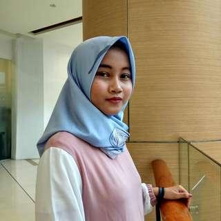 Print scarf Ummu Salamah