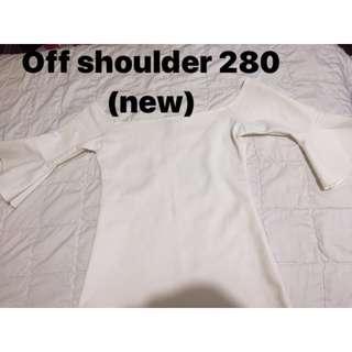 off shoulder