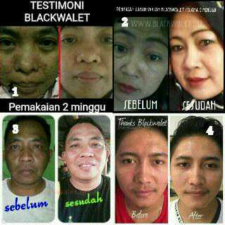 Sabun Black Walet Isi 3