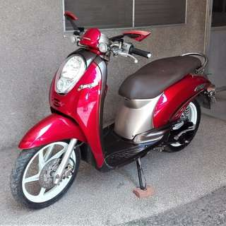 Bargain Sale Honda Scoopy Red Excellent Condition