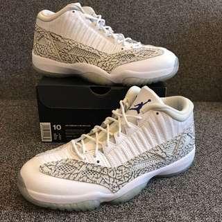 New Air Jordan Retro 11 Low White Cement US 10