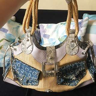 Authentic Vintage Guess Tote