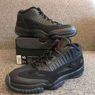 New Air Jordan Retro XI Low Black Cement US 10