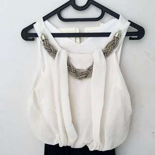 Cool Black & White Jumpsuit