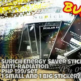 Scalar Energy Saver Sticker - Save electricity consumption now!