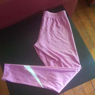 Nike Gym Tights Size Medium Worn Once Pink