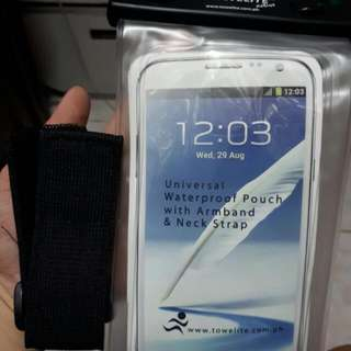Universal Waterproof Pouch W/ Arm Band And Neck Strap