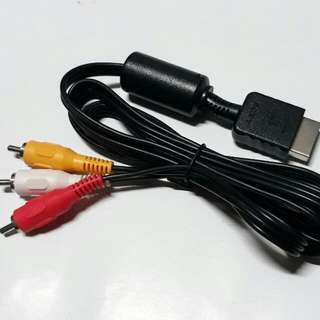 PS2  Audio Video AV Cable