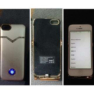 Powerbank Case Iphone 5