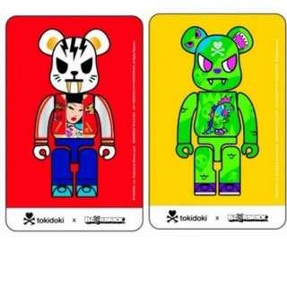 Tokidoki x Be@rbrick Ezlink Cards Set