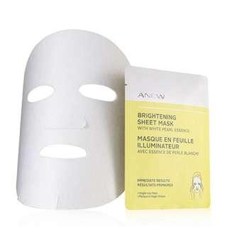 Anew Brightening Sheet Mask