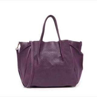 Oliveve 紫 全牛皮