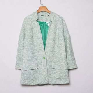 cotton casual blazer