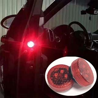 LED Car Door Warning Light Open Signal Warning Flashing Light Wireless