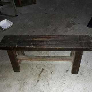 古董稀有老件原木老木迷你小板凳,尺寸稀少做工極佳,木質強度硬度極高。