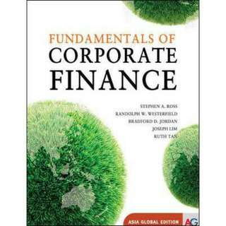 Reserved: Fundamental Of Corporate Finance