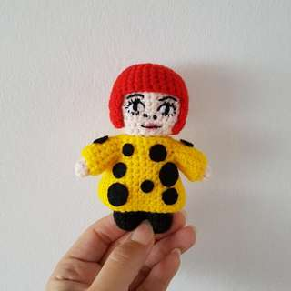 Crochet Yayoi Kusama