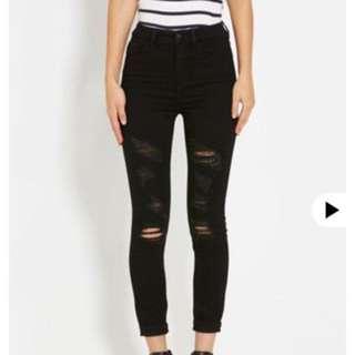 Ripped Doti Jeans