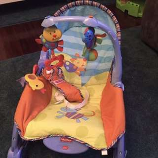 Fisher Price Rock chair With Form Mat