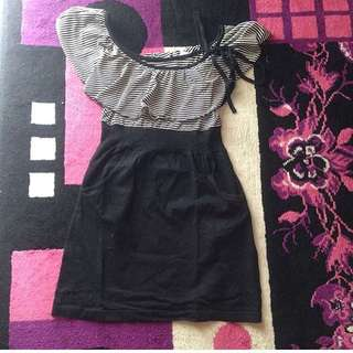 Dress Sabrina Stripe