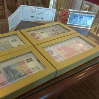 SG50 Commemorative $1 & $2 Notes
