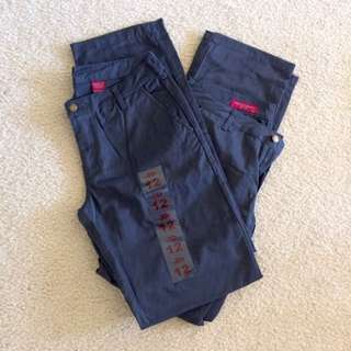 2 Pair of Pants- Size 12