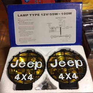 Super High Power Halogem Lamp Jeed 4x4 Fog Lamp PARA 110W
