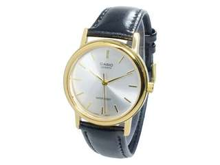 Casio Unisex Golden Quartz Watch