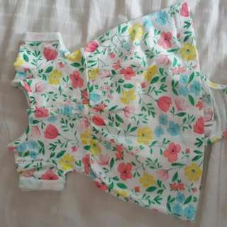 used carters dress size 6month