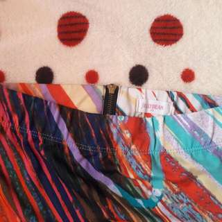 Colorful Fitted Skirt