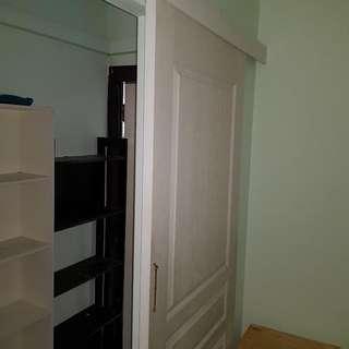 Sliding Door With Track Accessories