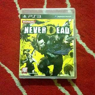 [FREE POS SM] NEVER DEAD PS3