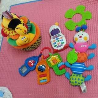 Preloved Toys Fisher Price,  Ka Kids N Others