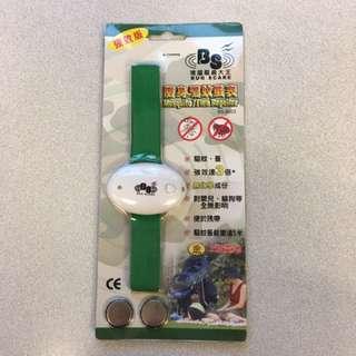 強力防蚊/蚤手帶