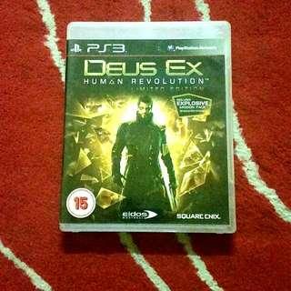 [FREE POS SM] DEUS EX HUMAN REVOLUTION Limited Edition PS3
