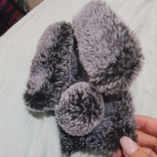 Samsung S8 Cute Bunny Furry Case