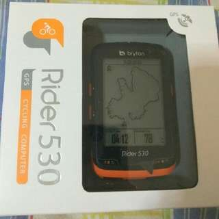 100%NEW Bryton Rider 530 GPS Cycling Computer 中文無線GPS單車碼錶(含F-Mount 延伸座)~~~送機身保護套連膜