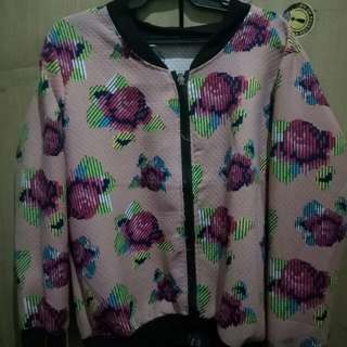 Floral Pinkish Jacket