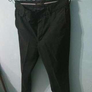 Slim Fit Black Nichi Pant