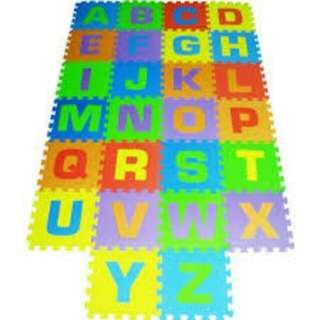 Abc floor puzzle mat