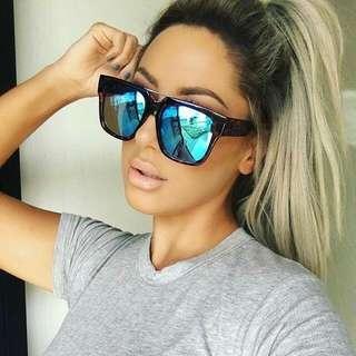 Quay Mila CHRISSPY Oversize Sunglasses