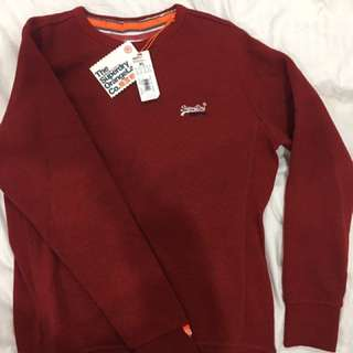 Men's Superdry Orange Label Sweater