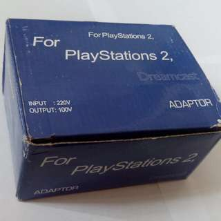 PS2 AC Power Adaptor