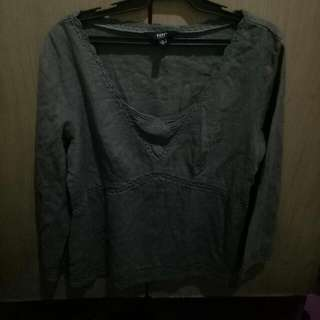 London Gray Long Sleeves Shirt