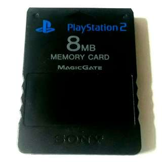 PS2 Memory Card With Free McBoot