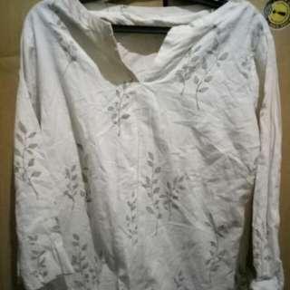 Floral Long Sleeves Shirt