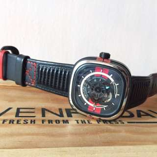 Sevenfriday P3/bb Mustang Series Limited Edition Not Ropex Panerai Audemars Piguet Casio Seiko Patek Philippe Luminor