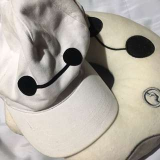 Baymax Cap And Neck Pillow