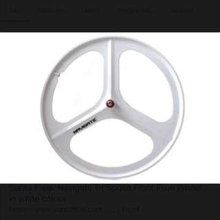 Navigate Front Wheel