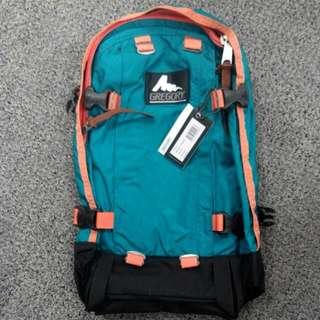 Gregory All Day Backpack (Emerald & Orange)